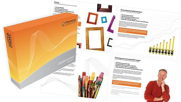 Framiac Framr Software and Promotional Brochure