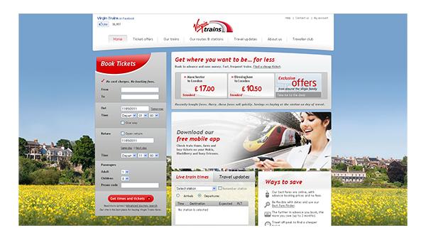 Virgin Trains Website Photo of Chester