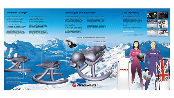 Dr Ice Brochure Design for Ice Sport Tech