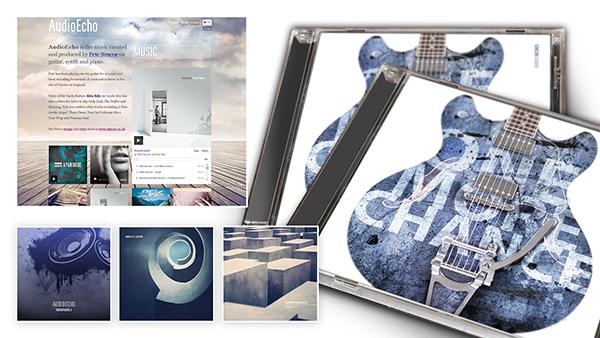 AudioEcho Music Artwork and Website