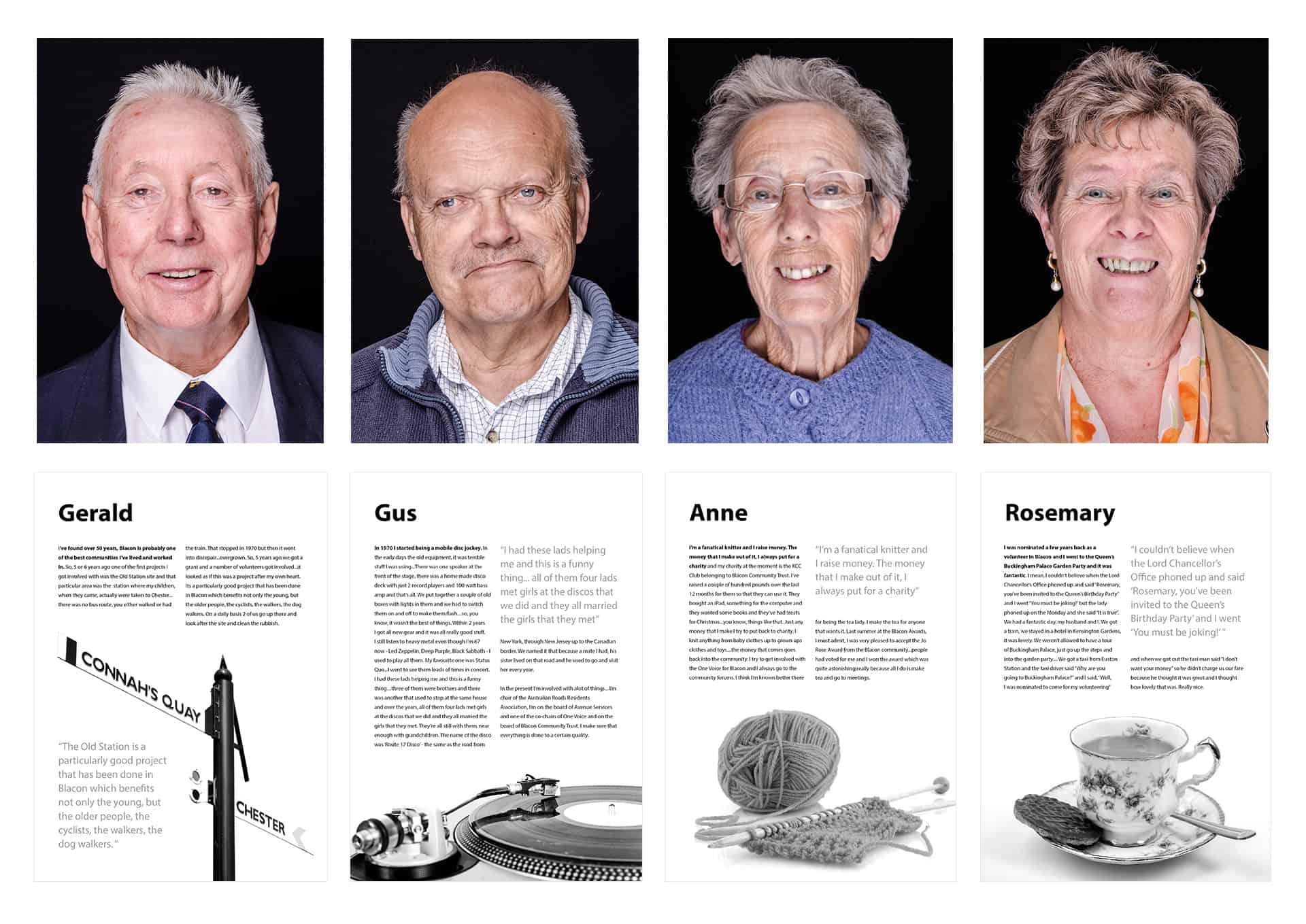 Remarkable Stories from Blacon photography and audio project