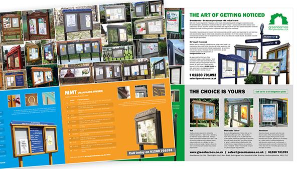 Greenbarnes Brochure Design