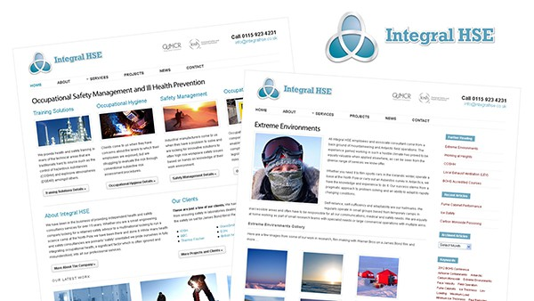 Integral HSE Website and Logo Design