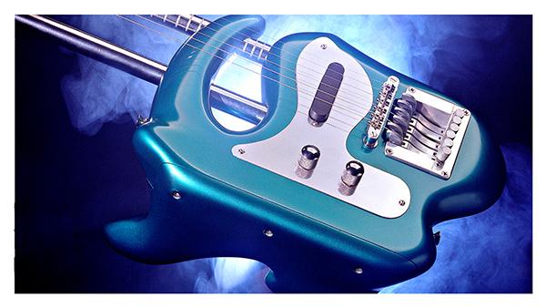 Portable Lap Steel Guitar Design