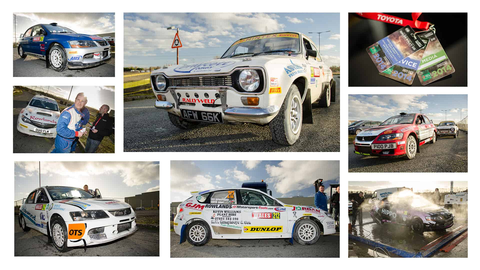 World Rally Championship photography for Toyota