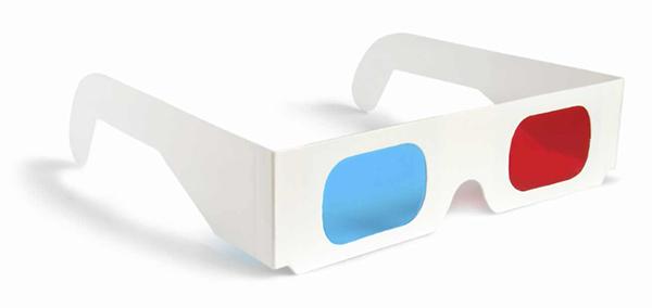 Red / Cyan Glasses