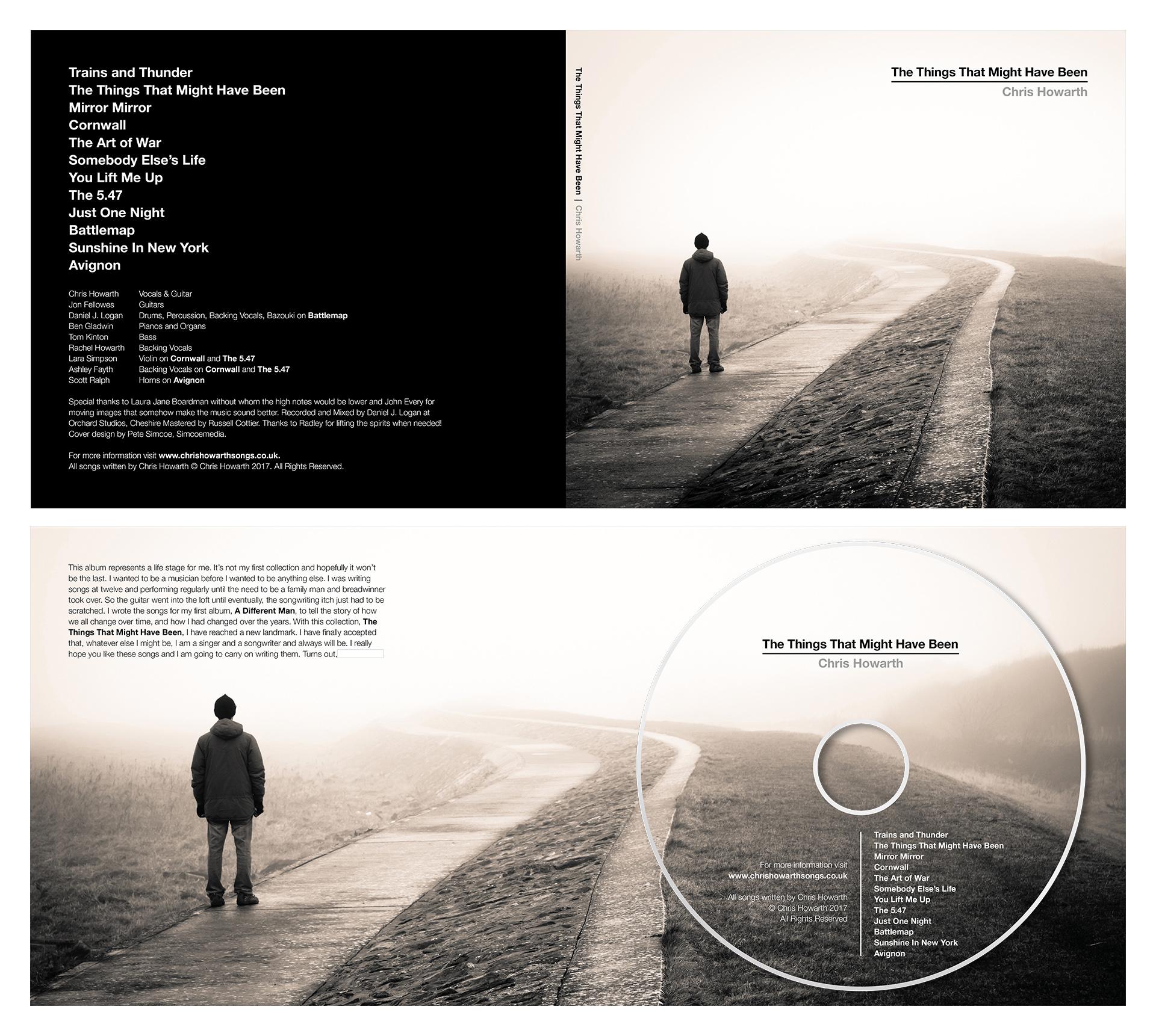 Chris Howarth Artwork and Design for CD