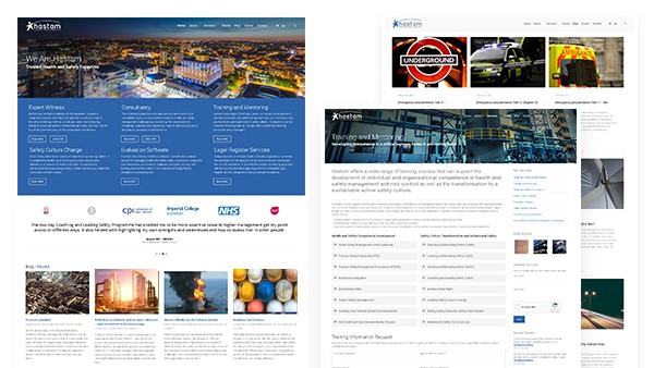 Hastam Health and Safety Website Design and Production