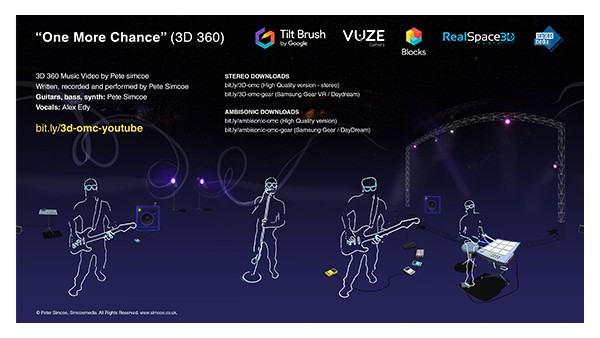 360 Music Video Using Google Tilt Brush, Blocks and Vuze