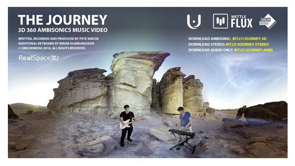 3D 360 Music Video With Ambisonics Audio
